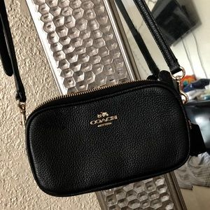 Coach cross body mini purse